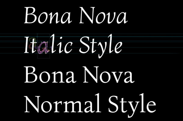 3_Bona Italic & Regular