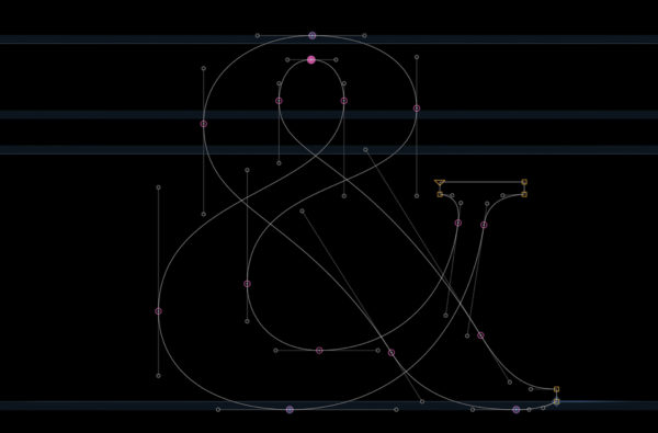 4_Projekt znaku & w masterze Bold